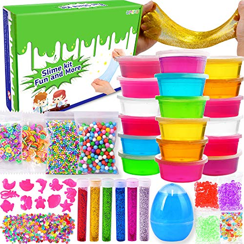 EZIGO DIY Slime Kits for Girls Boys...