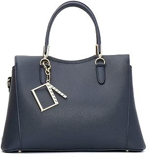 Ladies New Leather Handbag Fashion Shoulder Bag Simple Casual Wild Women's Crossbody Bag Clutch Bag(FM),C