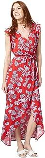 LE CHÂTEAU Floral Wrap-Like Maxi Dress for Women