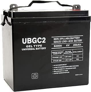 Universal Power Group UBGC2 6V 200Ah GEL Battery Magnum Energy MM1512AE