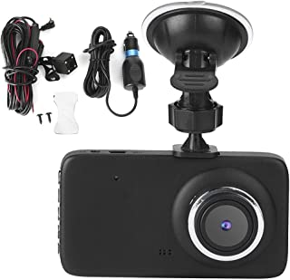 Universal Dash Cam, 4in Full HD 1080P Car Driving DVR Recorder Dash, with 170° Wide Angle Lens Loop, G-Sensor FH401, Motio...