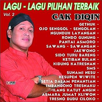 Lagu - Lagu Pilihan Terbaik CAK DIQIN vol 2