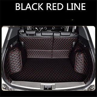 Custom Leather Car Trunk Mats For LAND ROVER Discovery 4 5 Range Rover Evoque LR2 Rover 75 Freelander 2 Rear Trunk Floor M...