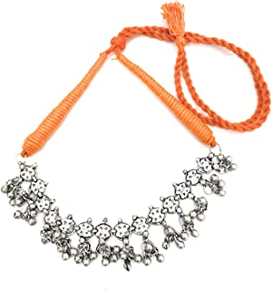 ghungroo necklace silver
