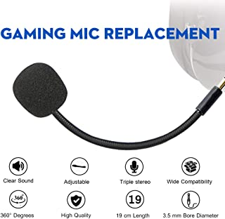 Turtle Beach Rplacement Mic, AMYYMA 3.5mm Game Micro Boom for Xbox One PS4 Stealth Recon 150 Gaming Headsets