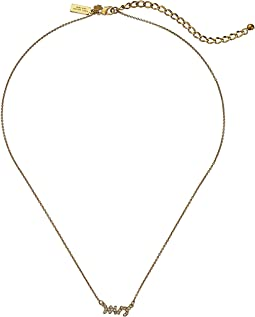 Kate Spade New York - Say Yes Pave Mrs Necklace