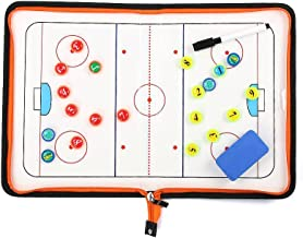 Wrzbest Ice Hockey Coaching Board Strategy Tactics Clipboard Coach's Game Match Training Plan Accesories