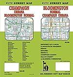 Bloomington / Champaign / Urbana, Illinois Street Map