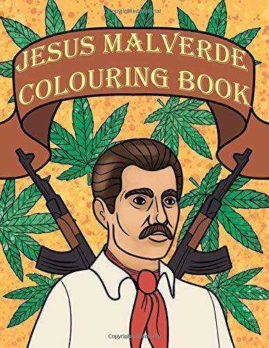 Jesus Malverde Colouring Book: Mexican Jesus Malverde Gift
