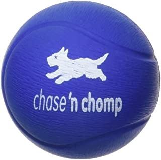 Chase 'n Chomp Hi-Bouncer Ball Pet Chew Toy, 2.5-Inch, Purple