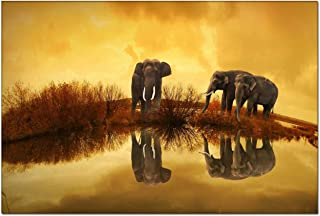Best thailand elephant paintings for sale Reviews