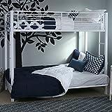 Walker Edison Furniture Company Metal Pipe Twin Bunk Bed