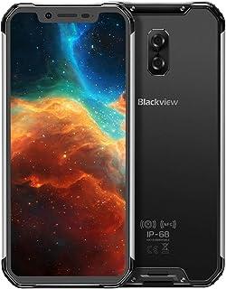 QUZH Cell Phones Smartphone BV9600, 4GB+64GB, IP68/IP69K Waterproof Dustproof Shockproof, Dual Back Cameras, 5580mAh Battery, Face ID & Side-mounted Fingerprint Identification, 6.21 inch Android 9 Hel