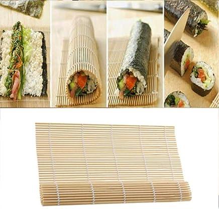 Preisvergleich für ShengJ Sushi Rolling Roller Bambus DIY Sushi Mat Japan Reisroller Handmacher Sushi Werkzeuge