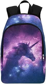 Galaxy Nebula Unicorn Custom Casual Backpack School Bag Travel Daypack