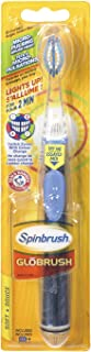 ARM & HAMMER Spinbrush Glōbrush Powered Toothbrush, 1 Count