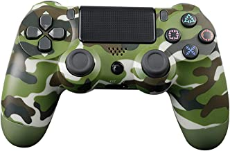 $49 » Xin Hai Yuan Wireless Controller for PS4, Game Controller Joystick for Playstation 4 with USB Cable, Red Camouflage,Green