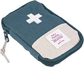 bjlongyi Portable First Aid Bag,Outdoor Camping Home Survival First Aid Kit Bag Case Pill Pouch