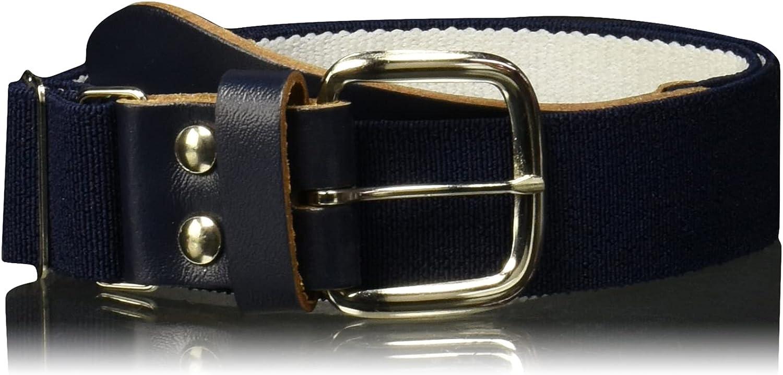 Wilson Sporting Goods Youth Elastic Baseball Belt, 18-22-Inch, Navy