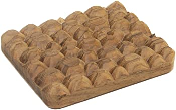 product image for David Rasmussen Design Handcrafted Natural Walnut Wood Soap Dish