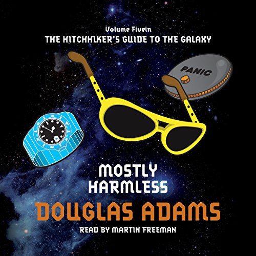 Mostly Harmless                   Written by:                                                                                                                                 Douglas Adams                               Narrated by:                                                                                                                                 Martin Freeman                      Length: 6 hrs and 32 mins     Not rated yet     Overall 0.0