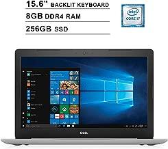 2019 Dell Inspiron 15 5570 15.6 Inch FHD Touchscreen Laptop (Intel Quad-Core i7-8550U?up to 4.0 GHz, 8GB RAM, 256GB SSD, Backlit KB, DVD, Bluetooth, WiFi, HDMI, Windows 10, Sliver) (Renewed)