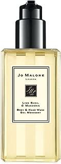 Brand New in Box Jo Malone London Lime Basil & Mandarin Body and Hand Wash/Shower Gel 8.5 oz