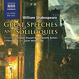 Couverture de Great Speeches and Soliloquies