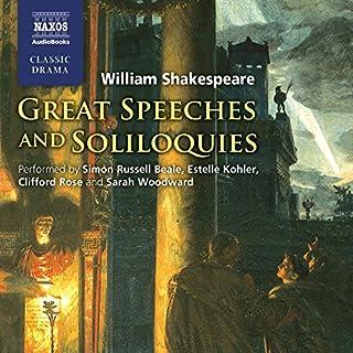 Great Speeches and Soliloquies Titelbild