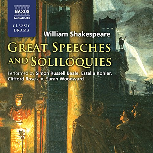 Great Speeches and Soliloquies audiobook cover art