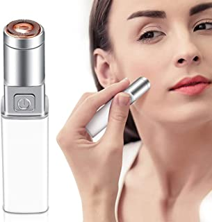 Facial Hair Removal for Women, RGCTL Face Hair Remover Mini Travel Size Trimmer for Women Ladies Face Armpit, Chin and Full Body, Waterproof, Battery Powered