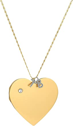 Tory Burch - Heart Locket Pendant Necklace
