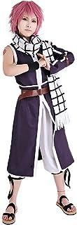Miccostumes Men's Natsu Dragneel Purple Cosplay Costume