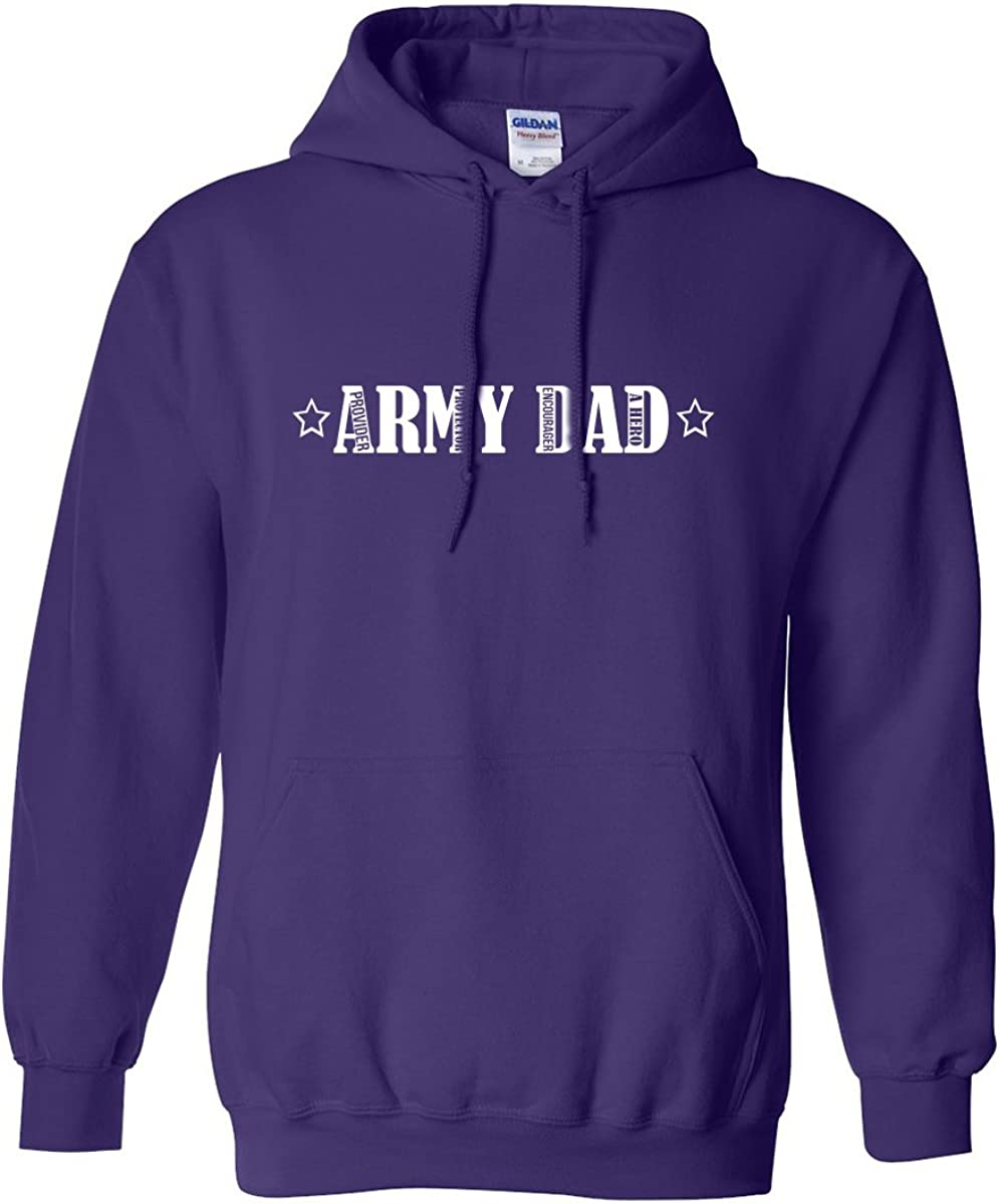 zerogravitee Army Dad Adult Hooded Sweatshirt