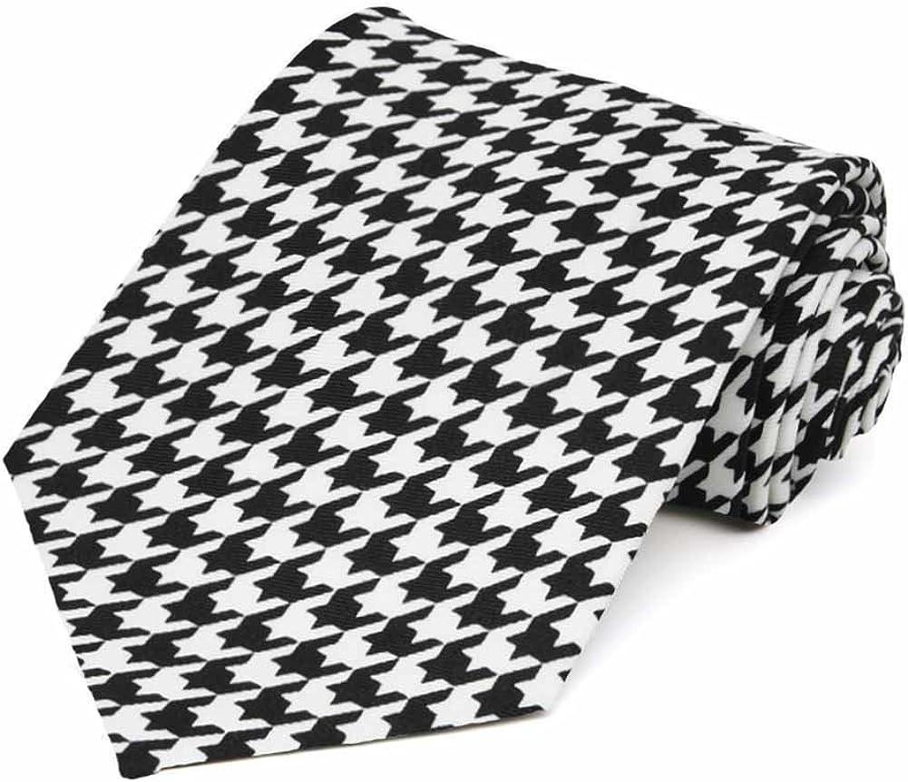 TieMart Houndstooth Necktie