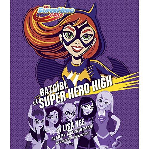Batgirl at Super Hero High audiobook cover art