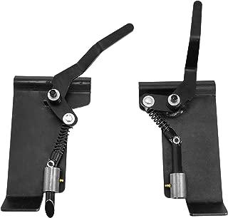 Mophorn A Pair Quick Tach Adapter Convert Skid Steer Brace Latch
