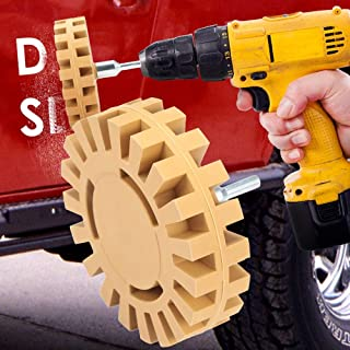 Eraser Wheel Car Decal Removal Tool Rubber Eraser Wheel Stickers Vinyl Stripe Adhesive Tape Graphics Removing Tool