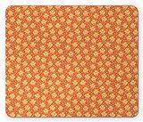 Materiale: poliestere Tampone di gomma inferiore. Dimensioni: 0,3x25x30 cm. Bordi cuciti resistenti. I bordi di questo tappetino per mouse sono delicati per evitare l'usura. Garantire un uso a lungo termine senza deformazioni e sgrassamenti. Superfic...