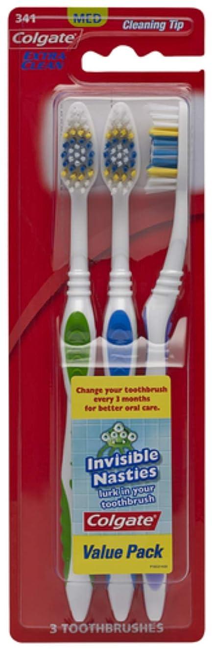 教室気になる短くするColgate エクストラクリーン歯ブラシ - ケースあたり24。