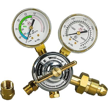 Industrial Argon Regulator//Flowmeter Gauges for MIG and TIG Welders S/ÜA
