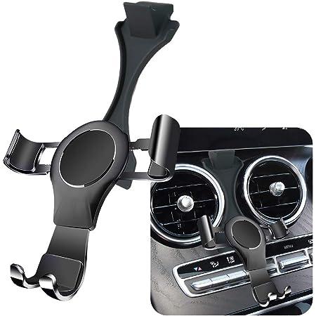 Lunqin Kfz Halterung Für Mercedes Benz C Klasse 2019 2020 C260 C200 C300 Glc Klasse 2020 Glc260 Glc300 Auto Zubehör Navigations Halterung Innendekoration Handy Halterung Elektronik