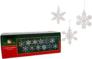 Best snowflake glass set Reviews