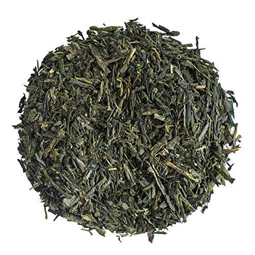 Moya Tè verde Sencha No. 21 Giapponese Biologico | 100 g | Tè verde in foglie | Bio, Naturale e Puro | Cordiale per Vegani e Vegetariani | in una Borsa Chiusa