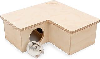 Niteangel Multi-Chamber Hamster House Maze: - Multi-Room Hideouts & Tunnel Exploring Toys for Hamster Gerbils Mice Lemming...