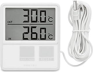 dretec(ドリテック) 温度計 室内 室外 O-215WT(ホワイト)