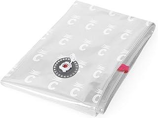 Compactor Aspispace Sac de rangement sous vide, Transparent, taille XL, 80 x 0,2 x H130 cm, RAN4746