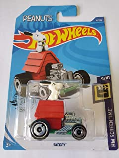 Hot Wheels 2020 Hw Screen Time Peanuts Snoopy, 14/250