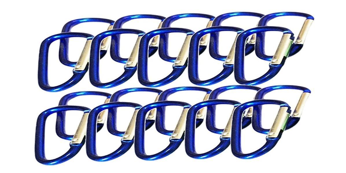 シンプルさ歯痛差し迫ったカラビナ カラフル マルチカラー キーホルダー 小型 中型 大型タイプ Lee.soulロゴ入り袋付き商品各オリジナルセット(5個セット 10個セット 20個セット 30個セット 40個セット)