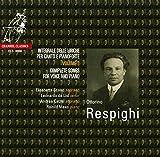 Respighi : Intégrale des mélodies pour violon et piano, vol. 3. Scano, Lisi, Catzel, Mees.